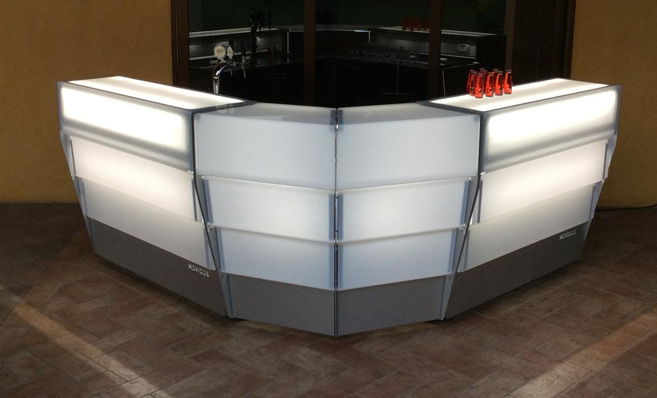 Bancone bar professionale per esterni modulare for Bancone cucina fai da te