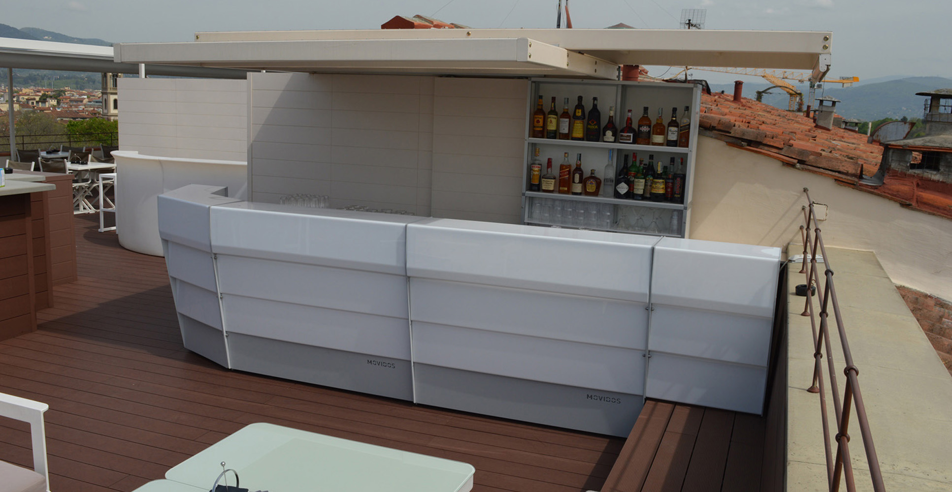 outdoor, indoor customizable bar counter, suitable for luxury hotel